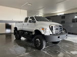 2013 F650 CREW CAB 4X4 DUALLY  for sale $150,000