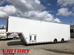 2019 InTech 38' Aluminum Gooseneck Sprint Car Trailer