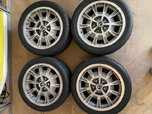 "17"" Shelby 10-spoke wheels on Toyo 245/255 tires  for sale $800"