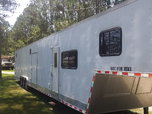 2010 53' Race Trailer with LQ  for sale $12,500