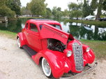 1936 5 window business coupe all steel body