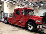 2009 Freightliner M2 Sportchassis Crew Cab Hauler Cummins Di  for sale $76,500