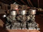 SBC Tri Power Setup Comple gasser ratrod prostreet  for sale $1,200