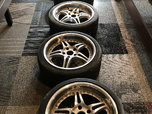 Used 235/45 R18 Hoosier R6 Tires on wheels for BMW E46 M3  for sale $600