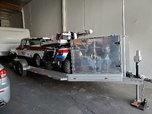 24 ft Custom Alum Trailer Excellent Conditon  for sale $7,800