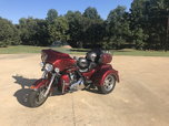 2010 Red HArley Ultra Classic Tryke  for sale $19,995