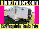28' Vintage Outlaw   Race Car Trailer  for sale $10,999
