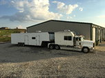 Freightliner toterhome and 44' enclosed trailer  for sale $50,000
