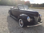 1940 Ford Convertible all steel  for sale $38,000