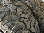 5 Milestar M/T Tires  for sale $525