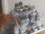 BBC big chief oval port intake and 1250 apd carb  for sale $1,500