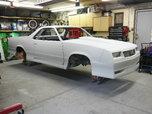Custom Tubbed El Camino Pro Street rotisserie restored body   for sale $25,000