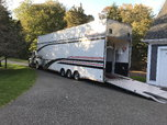 2012 United Trailer with 2007 International 4300  for sale $59,000