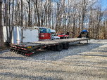 2020 big tex 40' tandem dual 22k deck over trailer  for sale $12,950