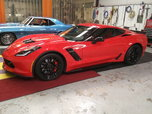 2018 Red on Red Z06
