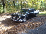 1957 CHEVY 150 SEDAN (BLACK WIDOW CLONE) TRADE