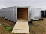 New 8.5x24 Custom Built Enclosed Snowmobile Trailers  for sale $6,000