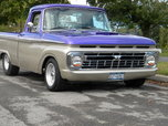 1966 f100 short bed restmod  for sale $21,500