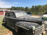 1947 Ford Super Deluxe  for sale $4,500