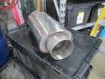 "Borla 5"" Racing Muffler  for sale $350"
