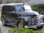 53 CHEVY PANEL TRUCK V/8 A/C  for sale $14,500