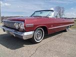 1963 Impala Convertible dual quad 409 4-spd   for sale $44,500