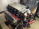 Aluminum 598 CI Turbo Engine Capable Of 3500 Horsepower  for sale $25,000