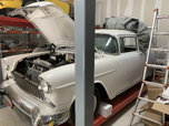 1955 chevy wagon pro street 355 a/c rust free