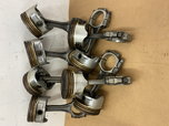 """SET of USED BB CHEVY 3/8"""" RODS with CAST STD PISTONS F  for sale $50"""