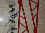 NMW red powder coated ladder bars   for sale $250