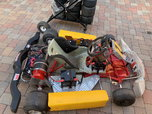 Electric go kart-fast fits adult based on shifter chassis  for sale $1,700