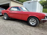 1968 Ford                                               Mustang  for sale $6,500