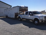 2001 40' T&E Trailer with 2011 F450  for sale $85,000