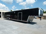 2014 48' VINTAGE OUTLAW LOADED RACE TRAILER