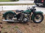 1948 Harley Davidson EL Panhead  for sale $12,500