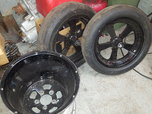 American racing drag wheels  for sale $1,200