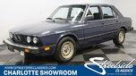 1986 BMW 528e  for sale $6,995