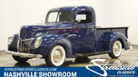 1940 Ford Pickup  for sale $58,995