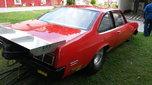 1975 Nova with 32' gooseneck trailer  for sale $25,000