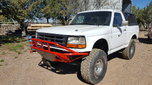 1991 Bronco Pre Runner 3 seater with ac