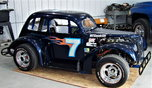 LEGENDS RACE CAR with NASCAR background  for sale $6,500