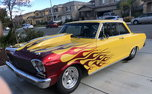 1962 Pro street Chevy II   for sale $40,000