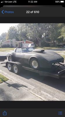 1982 Roller Chevy Corvette