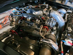 Twin Turbo SBC 406 with Twin 76's