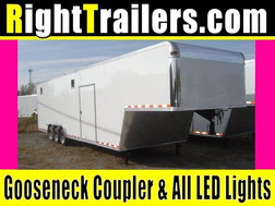 IN STOCK - Vintage 40' Race Car Trailer - 7'6 for Sale $19,999