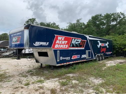 Racing Trailer with Living Area  for sale $20,000