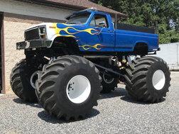 Ford monster truck ride truck