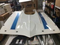 Fiberglass Hood for 67-69 Pontiac Firebird  for sale $200