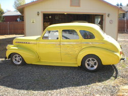 1940 Chevy 4 door sedan street rod