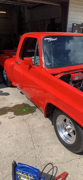 1985 BLOWN CHEVY SHORT BED